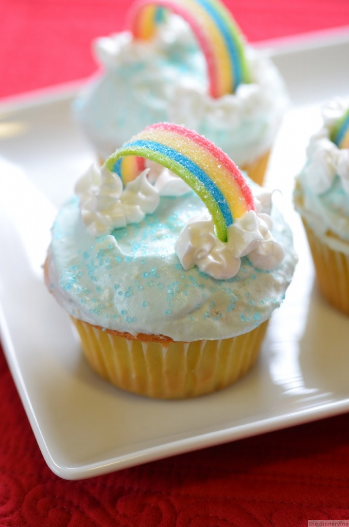 rainbow bright cupcakes rainbow bright cupcakes the rainbow cupcakes ...