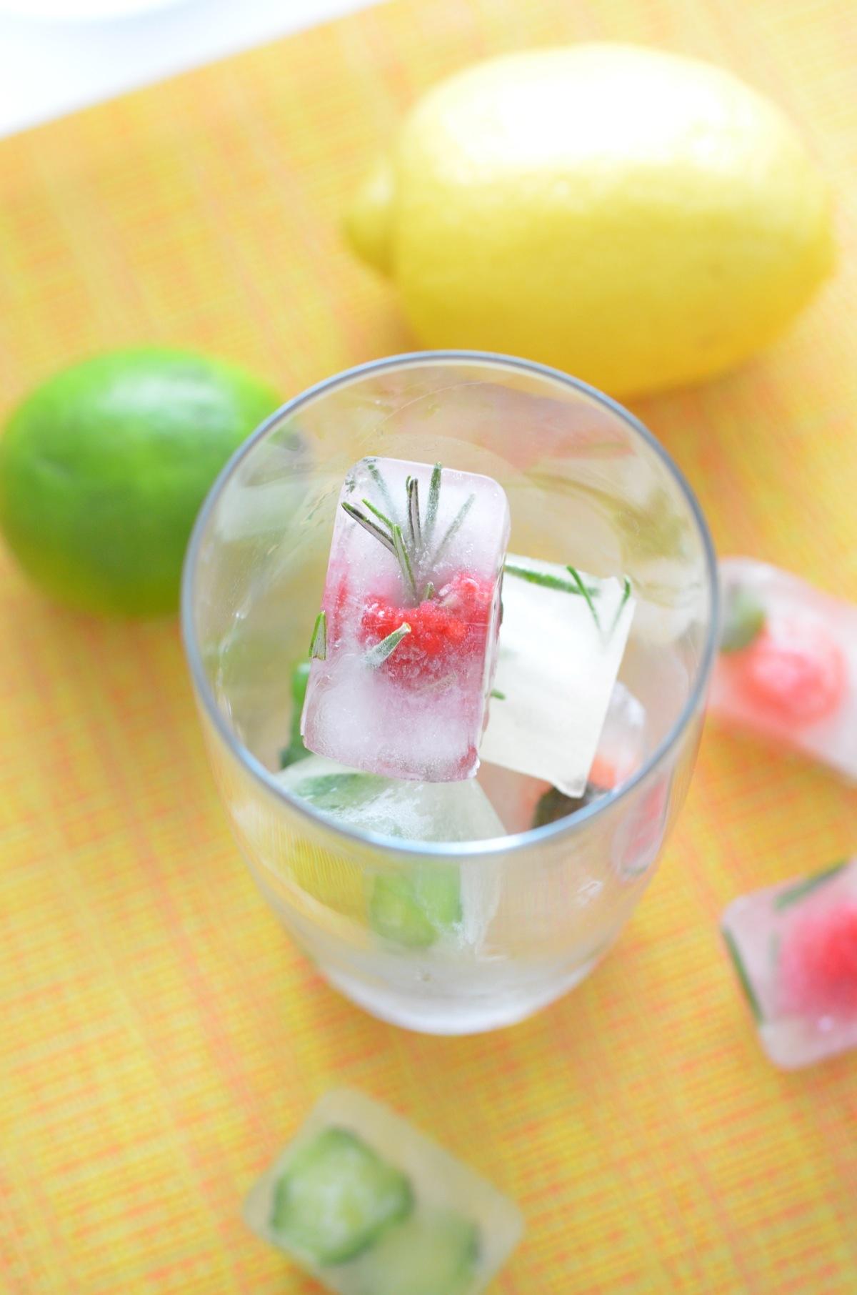 summer ice cubes