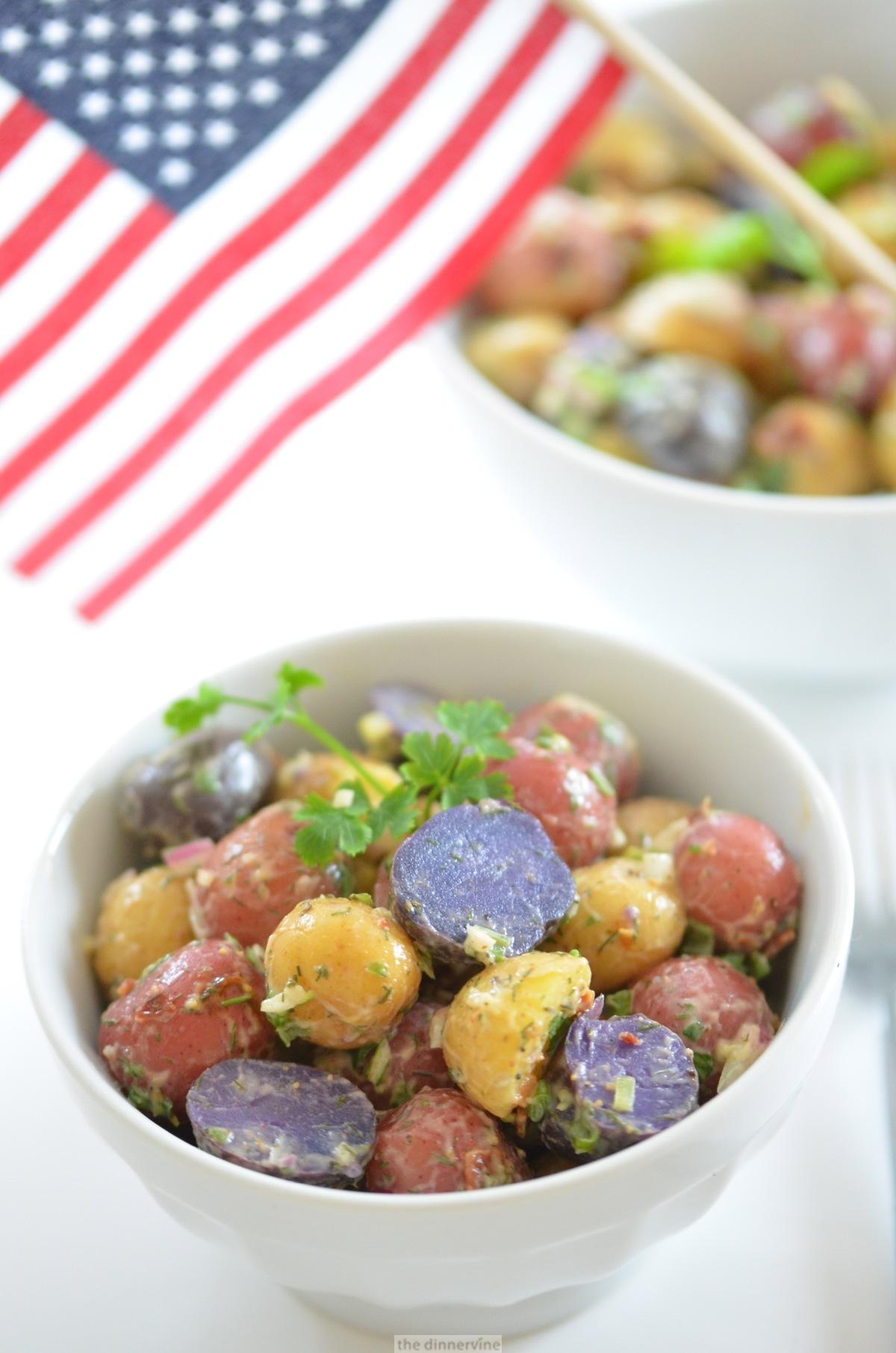 Patriot Potato Salad