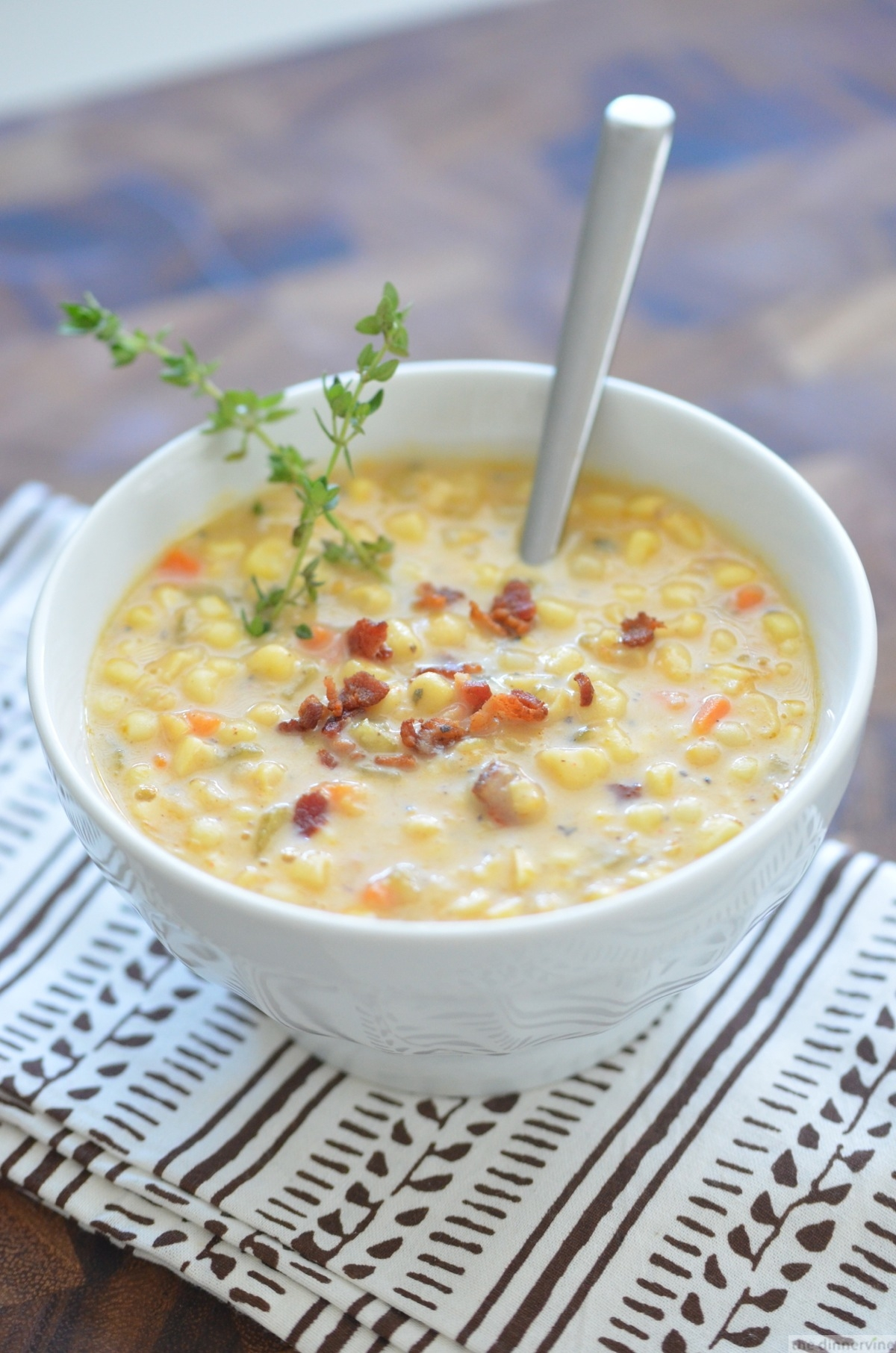 Sweet White Corn Chowder