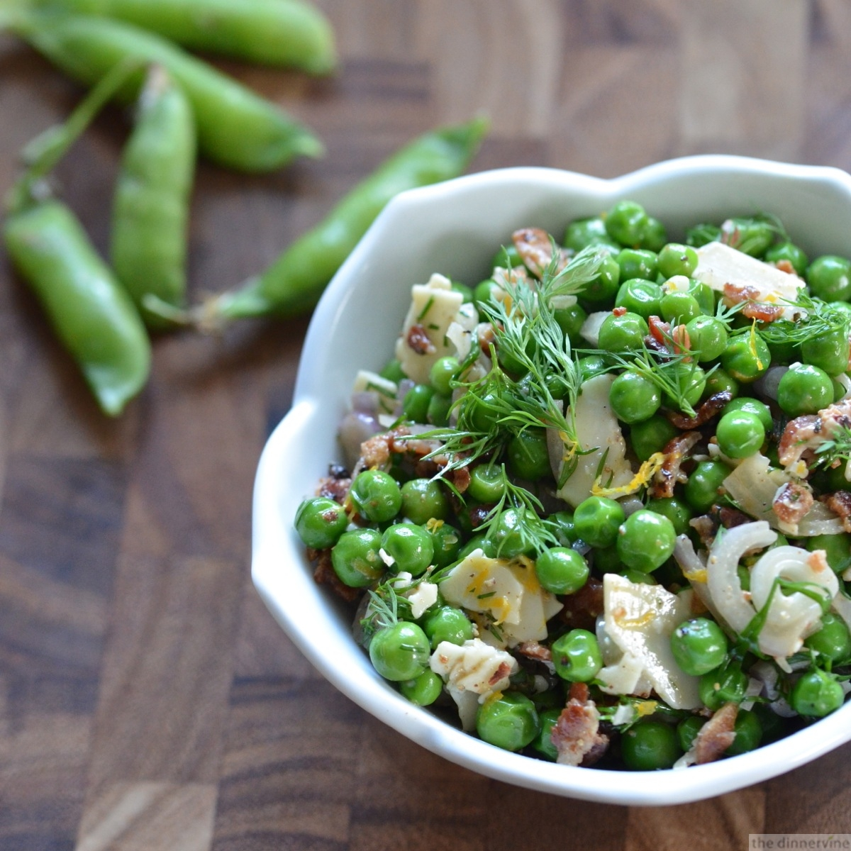 Cold Pea Salad Recipe — Dishmaps