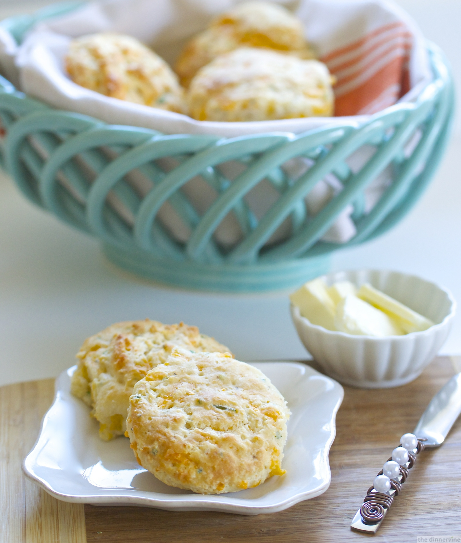 Cheddar Chive Buttermilk Biscuits