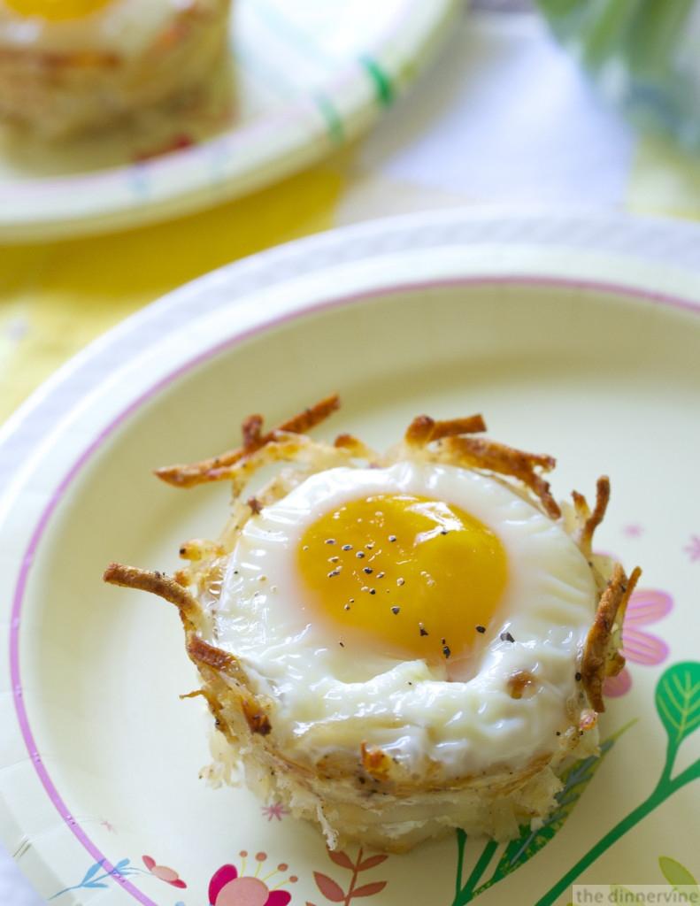 egg hash brown nests - 129